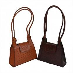 Sac à main cuir martelé- Vanity Bag S
