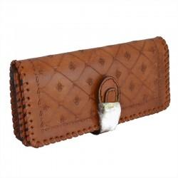 Porte monnaie cuir femme - Biker wallet