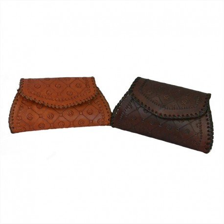 Porte monnaie cuir femme - Sah wallet
