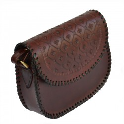 Sac bandoulière cuir femme - Evening bag