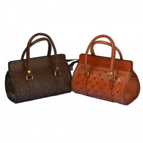 Sac à main cuir martelé - Preetha Bag M