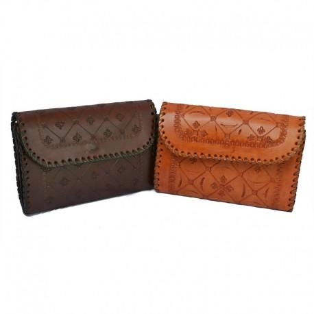 Porte monnaie cuir femme - Clutch purse