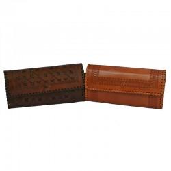 Porte monnaie cuir femme - Jasmeet wallet L