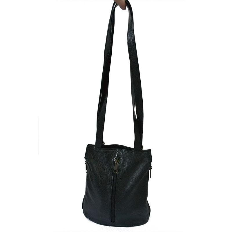 b01f24ac3a Charlotte : Sac à main convertissable sac à dos femme en cuir au ...