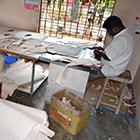 Maroquinerie - Découpe de cuir pour sac à main femme