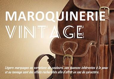 Maroquinerie vintage